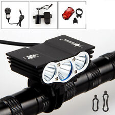 SolarStorm 3x CREE XM-L T6 LED 9000Lm Cycling Front Bicycle Lamp Bike Light
