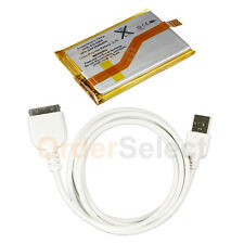 NEW Battery+USB Cable Cord for Apple iPod Touch iTouch 2 2nd Gen 8GB 16GB 32GB