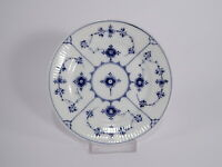 ROYAL COPENHAGEN BLUE FLUTED PLAIN ANTICO PIATTO 1898-1923