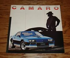 Original 1982 Chevrolet Camaro Sales Brochure 82 Chevy