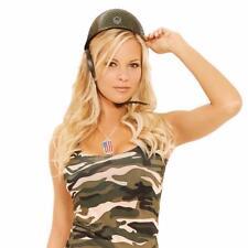 MILITAR CASCO Enredado Correa De Barbilla Combate Guerra Disfraz Soldado Verde