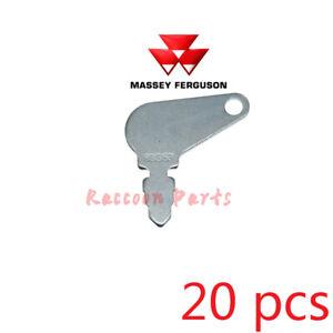 20pcs 83353 Short Hencol Key Fit Massey Ferguson John Deere case 192923M1 bobcat