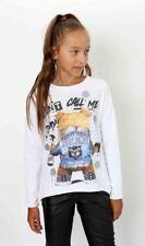 ELSY Girl cooles Shirt SRAY Print Bär mir Ohrenpiersing Gr.128-164 NEU