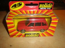 Ancient Solido 1/43  Nissan Prairie    red    MIB