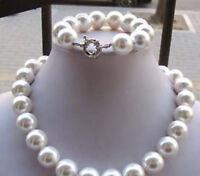 Beautiful 8mm Multicolor South Sea Shell Pearl Necklace Earrings Set JN480