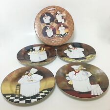 Sakura Jennifer Garant Al Dente Salad Dessert Plates Set of 4 In Box Stoneware