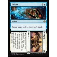 FAILURE / / COMPLY NM mtg Amonkhet Blue / White - Sorcery Rare