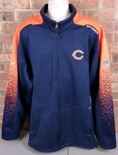 Chicago Bears Rebok NFL On Field Full Zip Jacket Men's Size 2XL