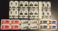 Russia USSR 1944 931 - 937 Used Block Of 4 Gum Scratched
