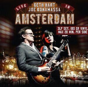BETH/BONAMASSA,JOE HART - LIVE IN AMSTERDAM 3 VINYL LP NEW