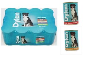 DYLAN For Working Dog Variety Pack (Beef,Chicken,Lamb,Rabbit) (12 or 24) X 400gm