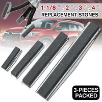 3Pcs Replacement Engine Cylinder Hone Shaft Stones Honing Tool 1-1/8'' 2'