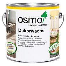Original Osmo Dekorwachs Creativ 3168 Eiche Antik 0,375 Liter Gebinde