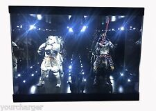 """Acrylic Case Light Box for 6"""" STAR WARS S H Figuarts Captain Phasma Stormtrooper"""