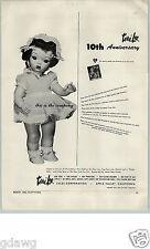 1956 PAPER AD Toy Terri Lee Doll Roy Rogers Cowboy Cap Gun Holster Set Classy Co