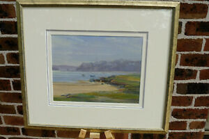 """Doug Sealy (1937-) : """"Low Tide"""" : Original Oil Painting : Listed Artist"""