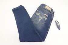 New Seven 7 Rocker Ankle Skinny Womens Medium Wash Jeans Size 12, 34 x 28