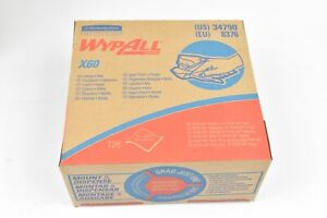 Wypall X60 Reusable Cloths in Convenient Pop-Up Box, (34790) 126 Sheets-White