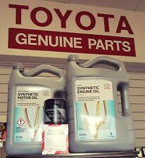 Toyota Hilux Oil Filter Service Kit KUN26 1KD GUN126 1GD 2GD WITH DPF