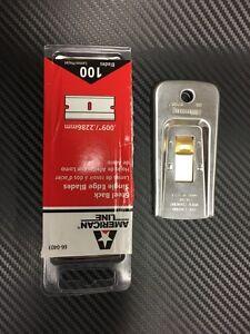 Window Film Tint Tools kit 8 -  100 single edge blades america line 1 scraper