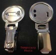Dog Show Ring Clip Nickel Plated with 25mm Centre x 10