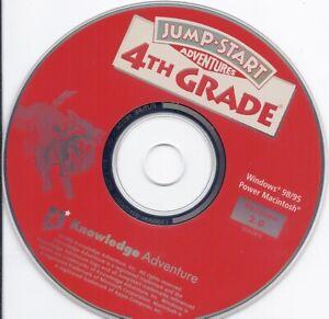 JumpStart Jump Start 4th Grade Adventures CD