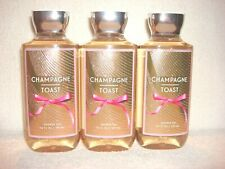 3 Bath & Body Works Champagne Toast Shower Gel