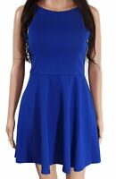 Speechless Juniors A-Line Dress Royal Blue Size Medium M Tie-Back $52 997