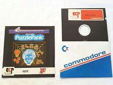 Ken Ustons' Puzzle Panic ECP Epyx Commodore C64 computer video game c64