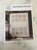 Rose wood Manor Mother's prayer Quilt Sampler Cross Stitch Pattern Q-1267