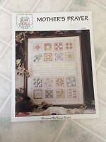 Rose wood Manor Mother's prayer Quilt Sampler Cross Stitch Pattern Q-1267