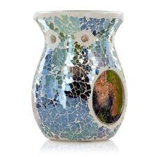 Ashleigh & Burwood Classic Glass Mosaic Lunar Eclipse Fragrance Oil Burner Gift