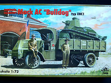 "MACK AC ""BULLDOG"" TYPE EHC 1,  ALLIED WWI HEAVY TRUCK , RPM 72400, SCALE 1/72"