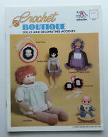Crochet Boutique Dolls and Decorating Accents Craft Booket
