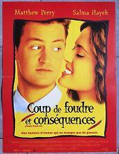 Affiche COUP DE FOUDRE ET CONSEQUENCES Fools Rush In MATTHEW PERRY 40x60cm *