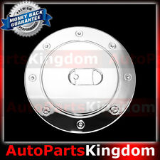 99-06 GMC Sierra +HD Triple Chrome Plated ABS GAS TANK FUEL Door Cover TRIM SUV