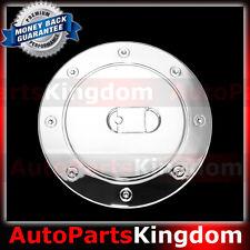 99-06 GMC Sierra +HD Triple Chrome Plated ABS GAS TANK FUEL Door Cover TRIM SUV