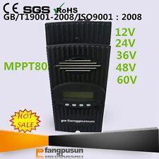 80A Flexmax 7500w MPPT Solar Charge Controller 12V 24V 36V 48V 60V Regulator