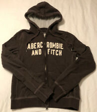 Abercrombie And Fitch Women's Full Zip Hoodie Large
