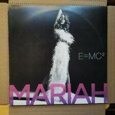 Mariah Carey E=MC2 Rare 2008 Original Pressing 2 LP W/ Poster EX Vinyl