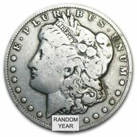 1878-1904 Random Year $1 Cull Morgan Silver Dollars Full Date No Holes