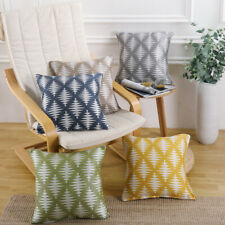 "Modern Design Cushion Covers Case Scatter Sofa Lounge Home Square 17"" x 17"""