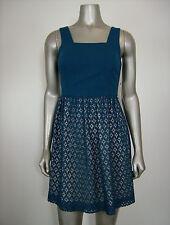 Kensie Women's Sleeveless Peacock Tea Dress XS