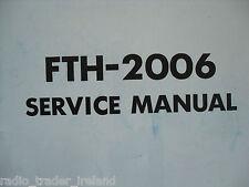 Yaesu fth-2006 (Genuino Manual de servicio solamente)............ radio_trader_ireland.