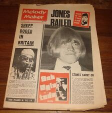 MELODY MAKER 4 NOV 1967 BRIAN JONES JAGGER STONES BOB DYLAN CREAM BEE GEES KINKS