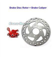 Bremsscheibe Rotor + Bremssattel Für 47cc 49cc Minimoto Go Kart Pocket Bike ATV