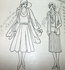 Rare Vintage 1930s Sewing Book Fabrics & Dress 1931 by Alice Blood