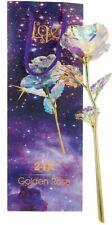 Rose Éternelle Multicolore Fleur Artificielle Décoration Cadeaux Fêtes des Mères