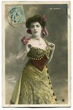CPA - Carte Postale - Fantaisie - Femme - Belle robe - De Maria (C8620)