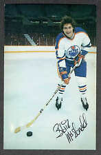 1979-80 Edmonton Oilers Blair McDonald Team Issued Postcard